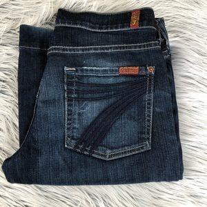 7 for All Mankind Dojo trouser jeans 27
